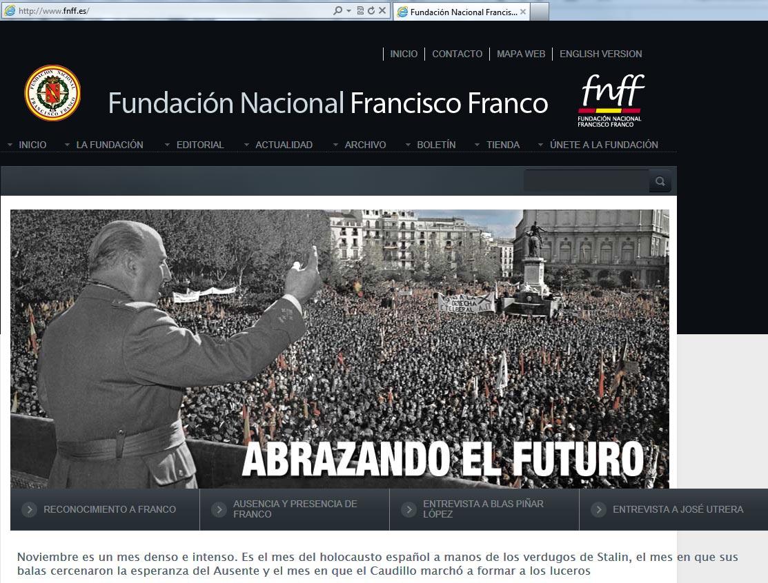 Resultado de imagen de fotos de la fundación Francisco Franco