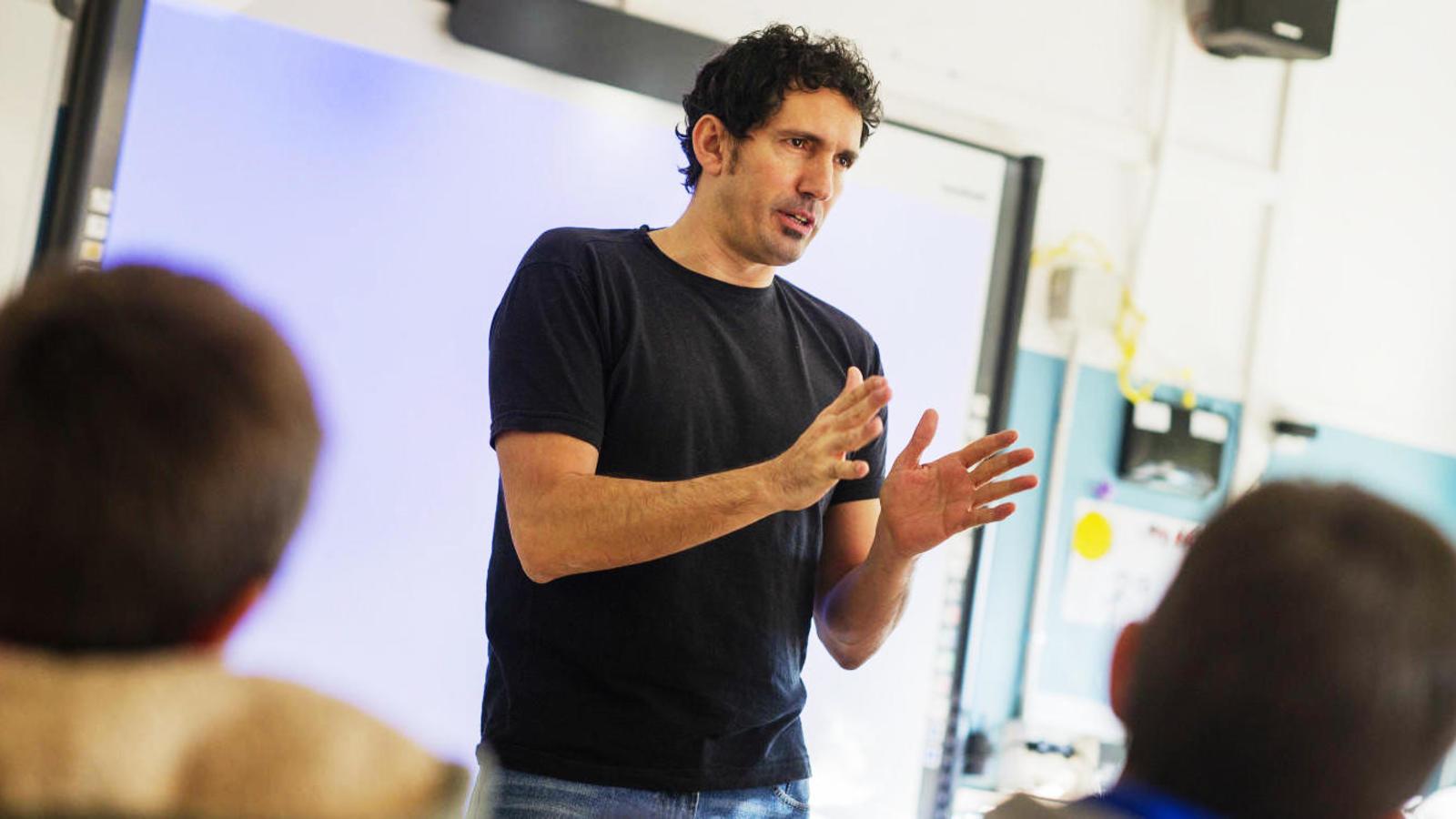 César Bona, el mejor profesor de España: \