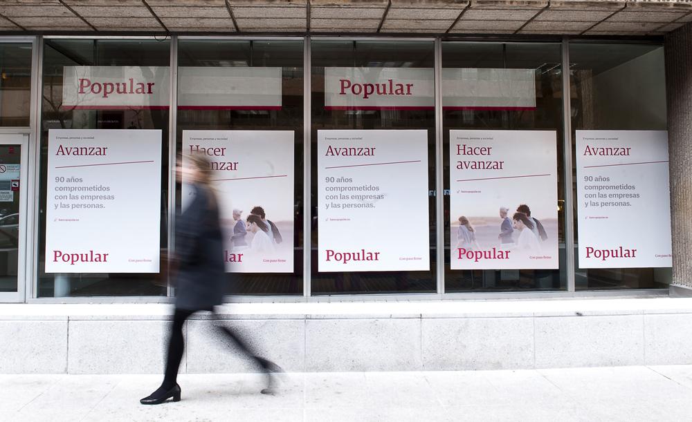 El popular cerrar 302 oficinas y crea cuatro direcciones for Oficinas banco popular pamplona