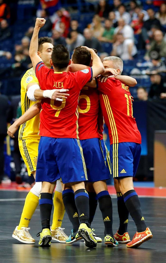La selecci n espa ola de f tbol sala jugar ante rusia su for Federacion espanola de futbol sala