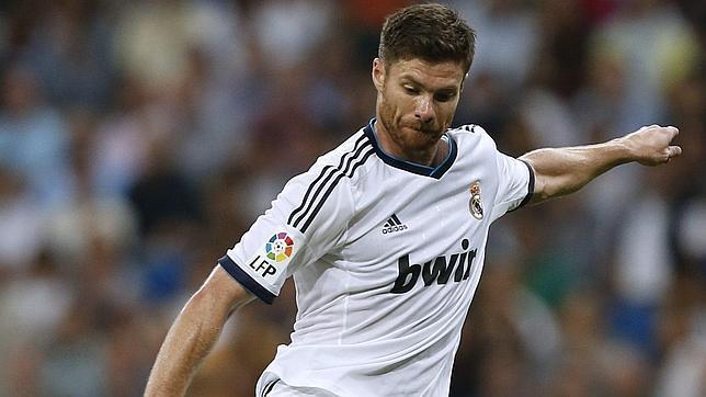 Xabi Alonso, durante su época como jugador en el Real Madrid. EFE