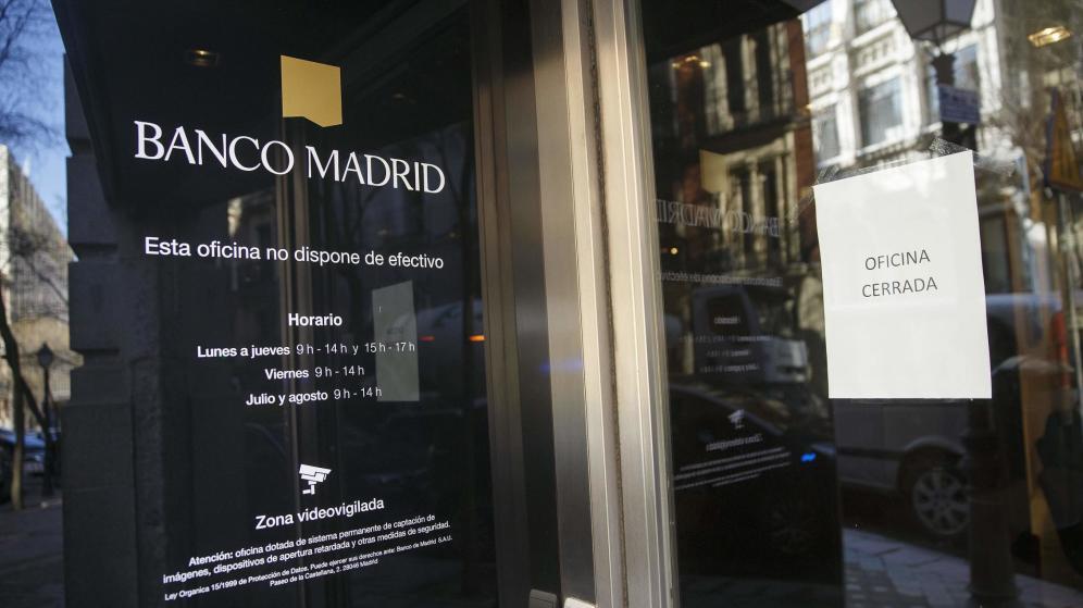 Los clientes de banco madrid recuperan m s del 95 de sus - Banco popular oficinas madrid ...
