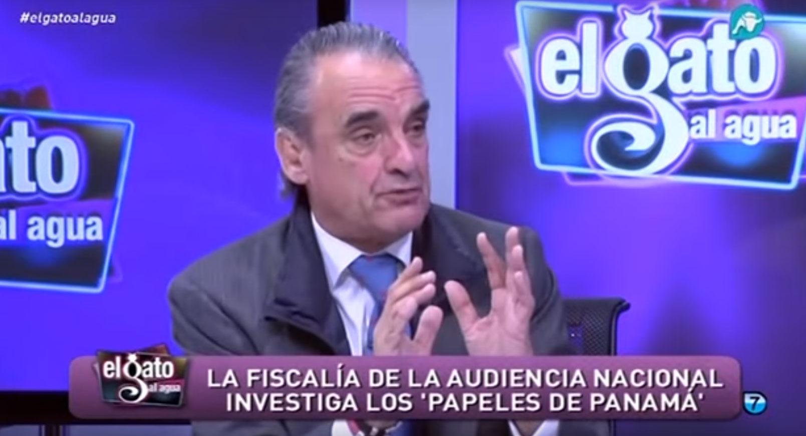 Mario Conde daba lecciones sobre paraísos fiscales hace una semana en Intereconomía