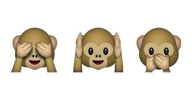 Resultado de imagen de emoticono mono ojos tapados
