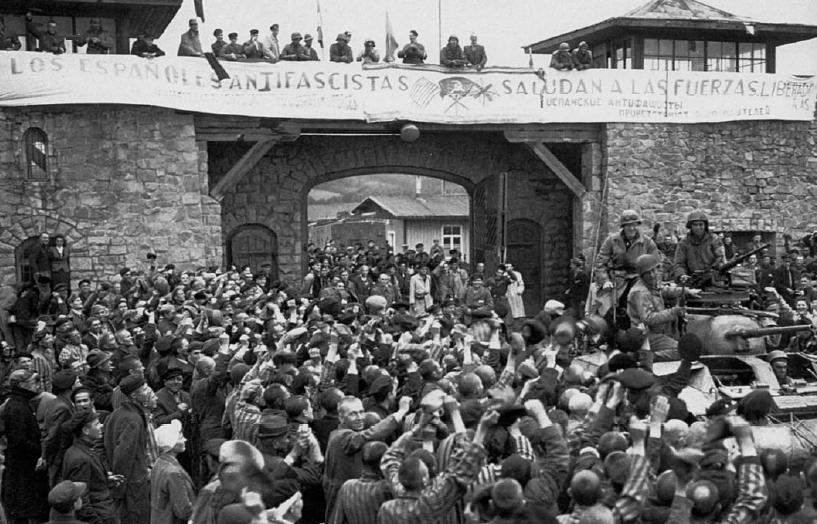 Resultado de imagen de foto liberacion mauthausen