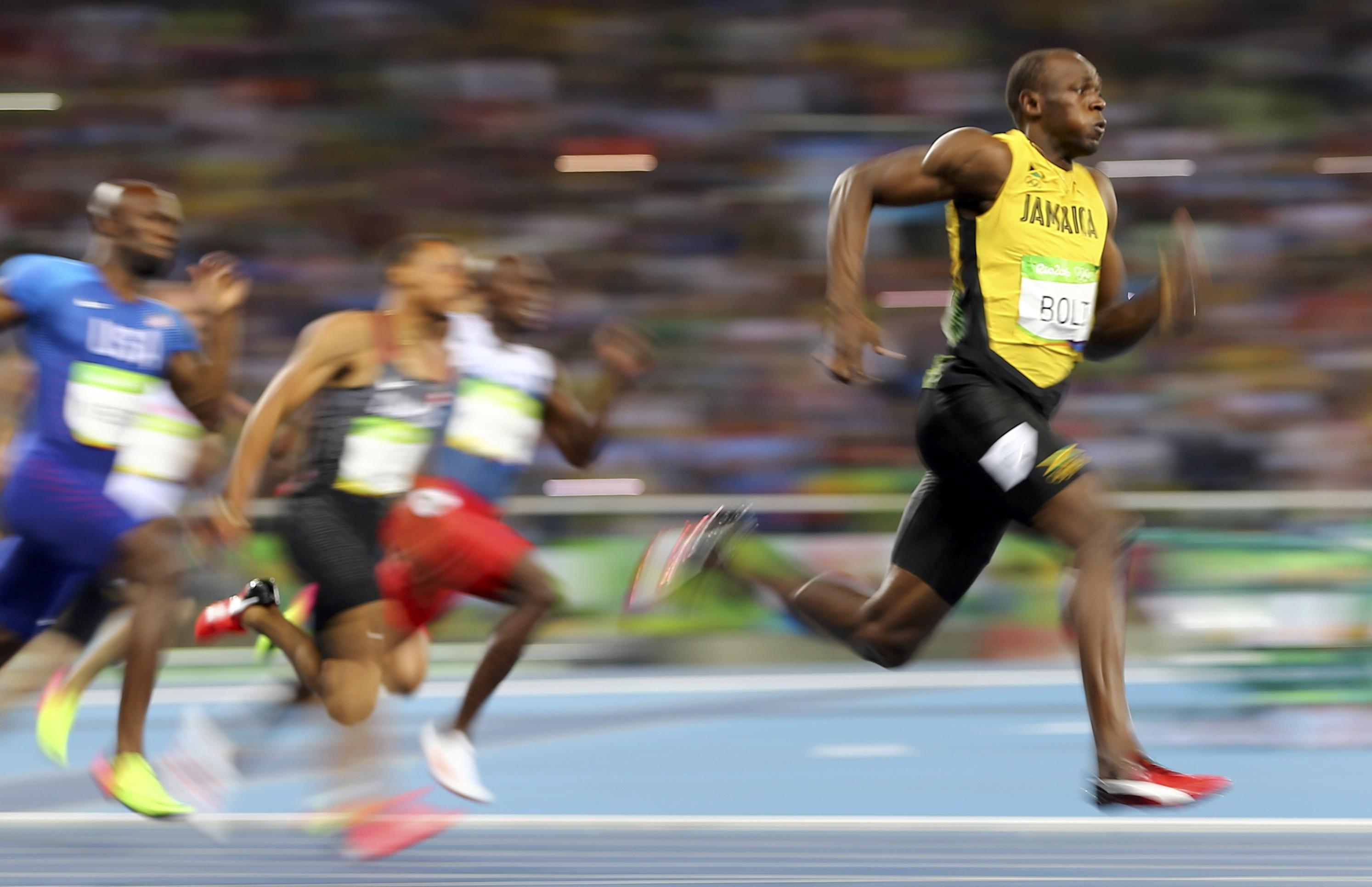 Piernas y glúteos   Usain Bolt