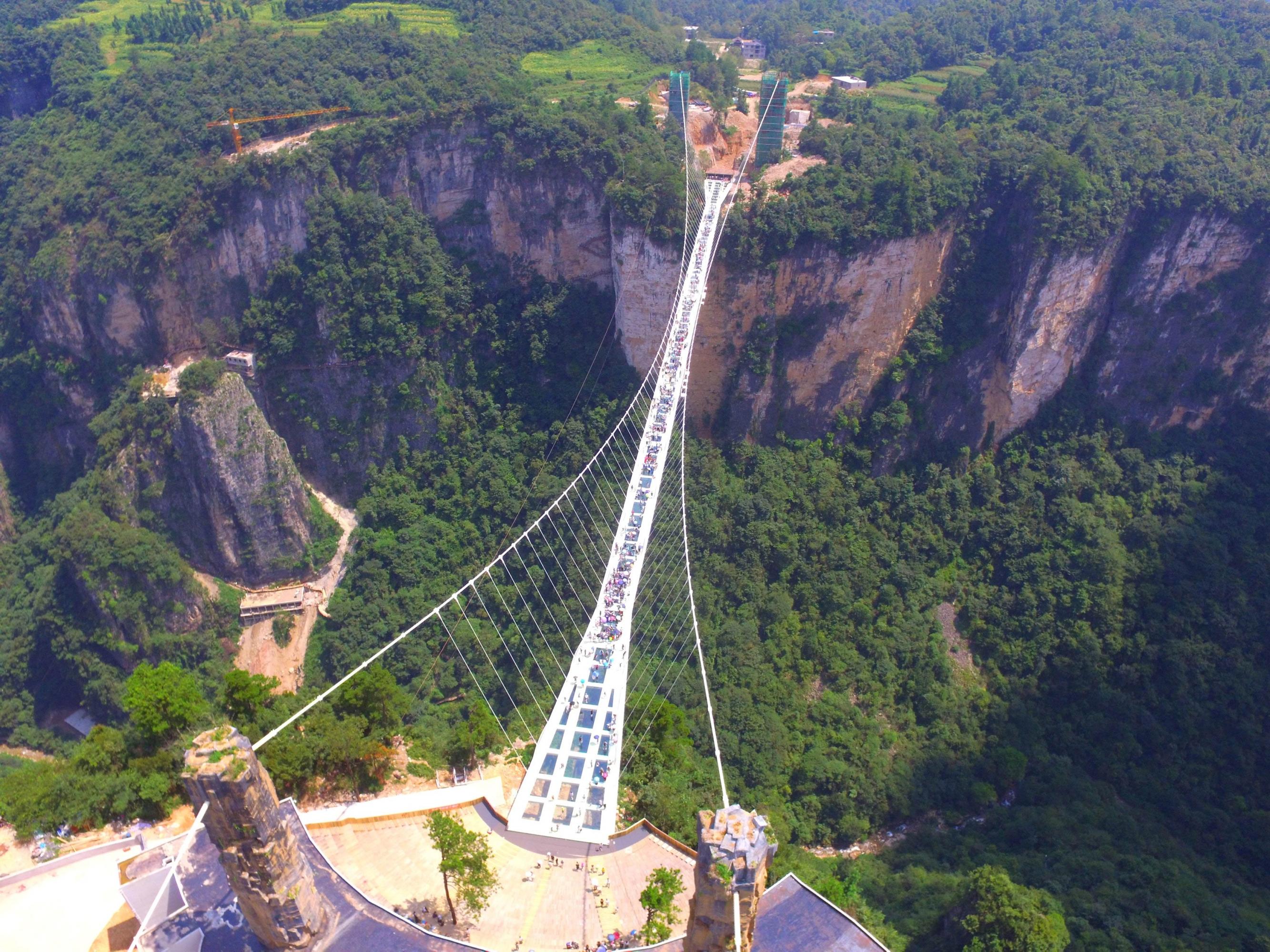El Puente De Cristal M 225 S Largo Y Alto Del Mundo Est 225 En