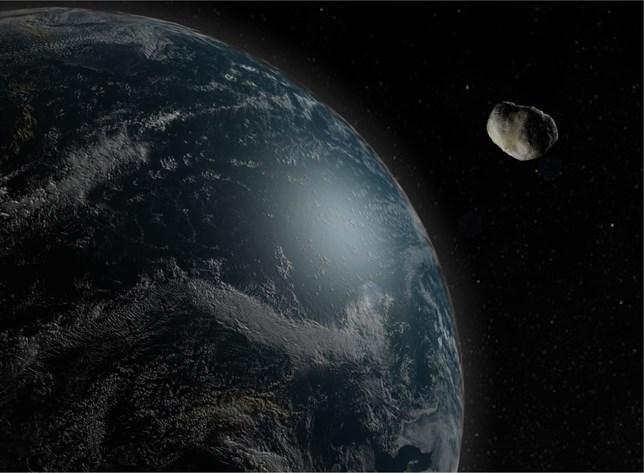 Un asteroide pasa rozando la Tierra sólo un día después de ser detectado