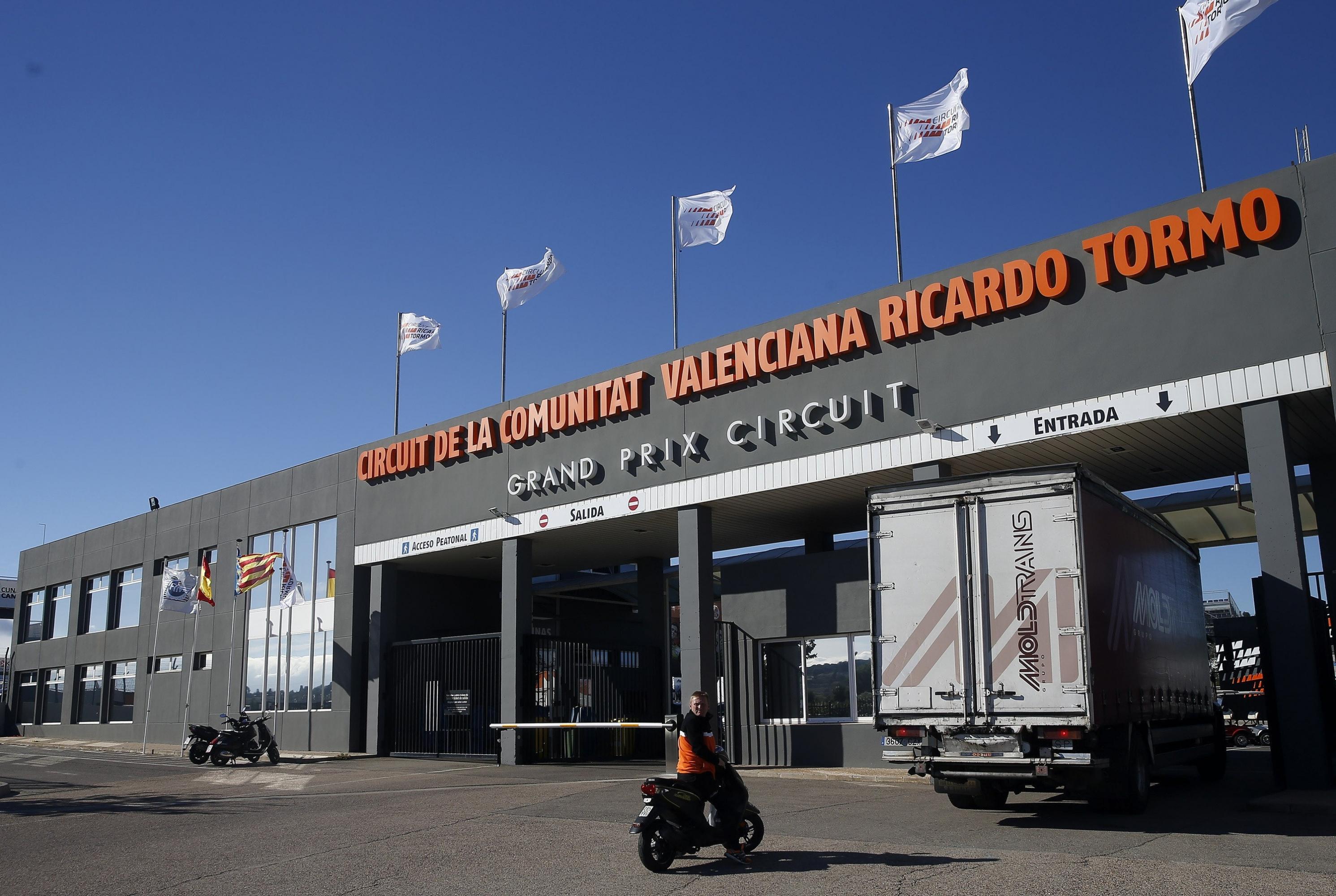 Circuito Cheste : La policía y anticorrupción recaban en el circuito valenciano de