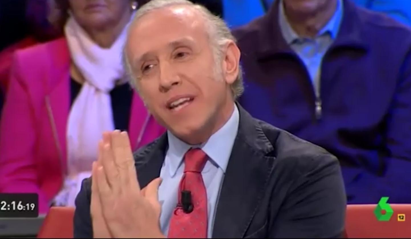 Eduardo Inda, en 'La Sexta Noche'