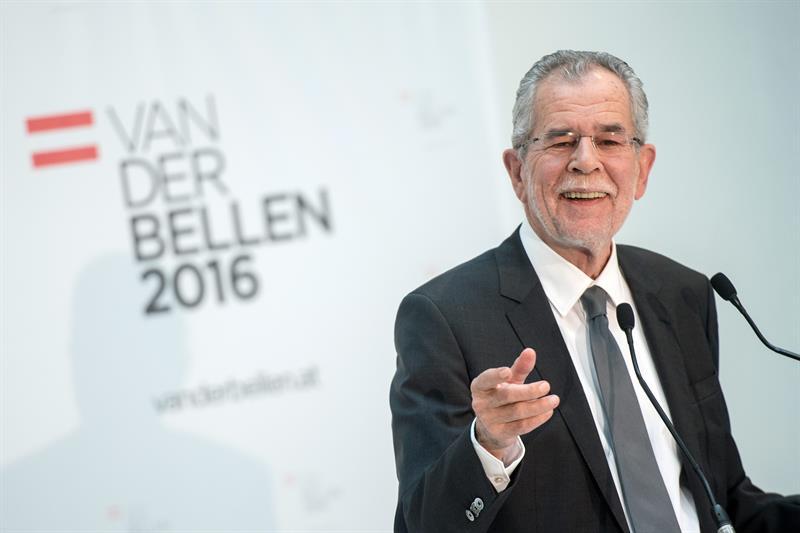 El presidente electo de Austria, Alexander Van der Bellen. - EFE