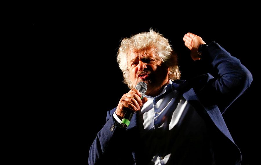 Grillo, en un acto en Roma hace unos días. REUTERS/Remo Casilli