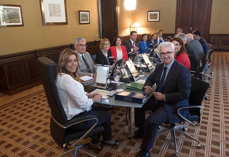 Imagen del consejo de gobierno de la Junta de Andalucía.