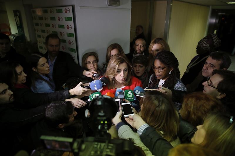 La presidenta de la Junta de Andalucía, Susana Díaz. - EFE