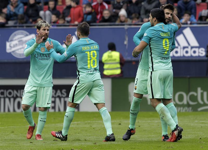El Barcelona se reencuentra con la victoria en Liga con un gran Messi