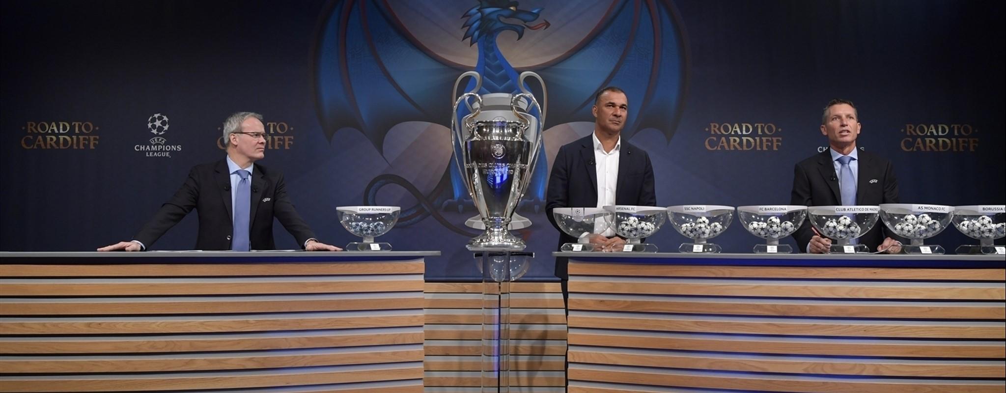 Real Madrid-Napolés, Leverkusen-Atlético, PSG-Barça y Leicester-Sevilla, octavos de la Champions