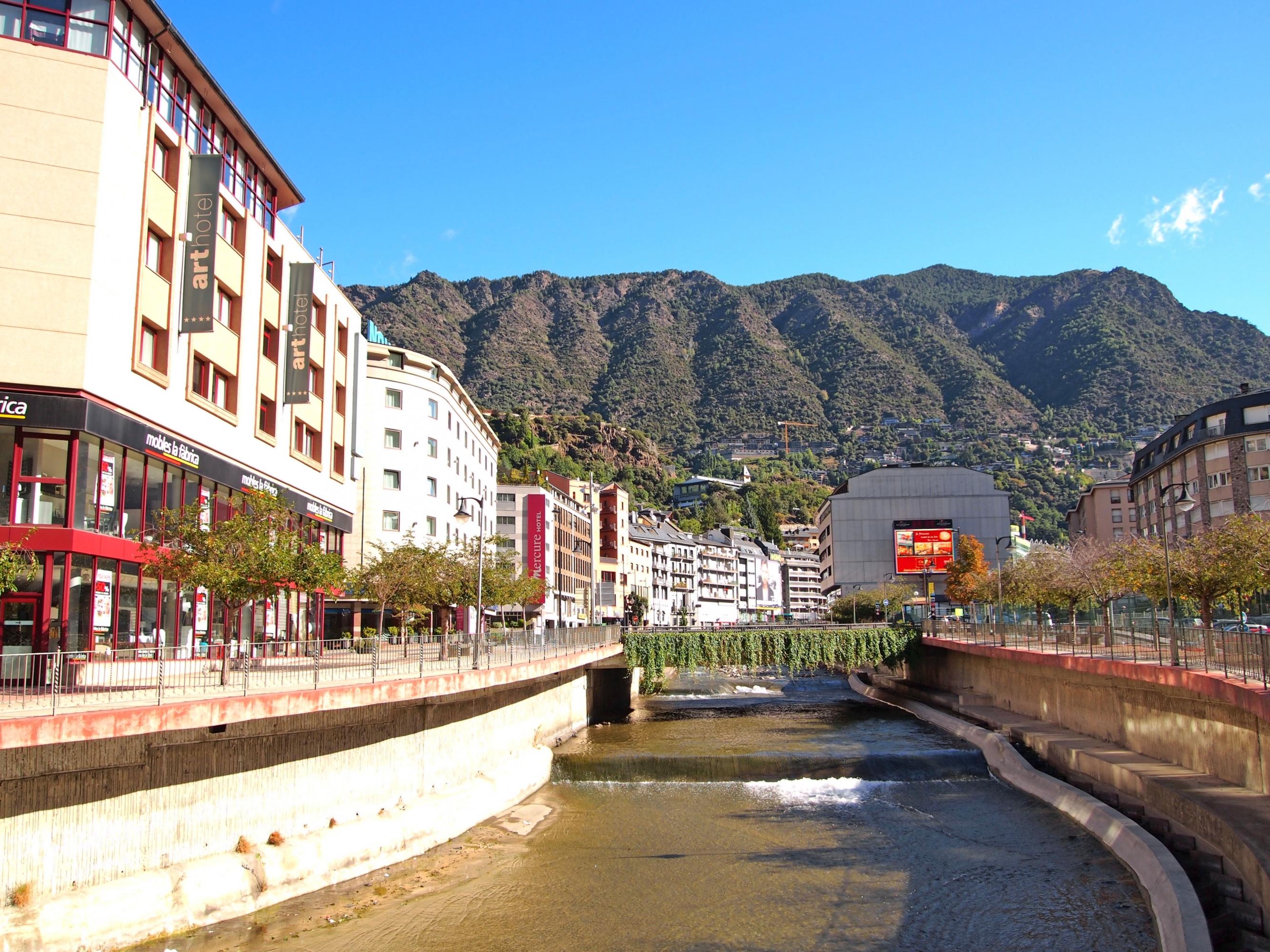 Una imatge d'Andorra.