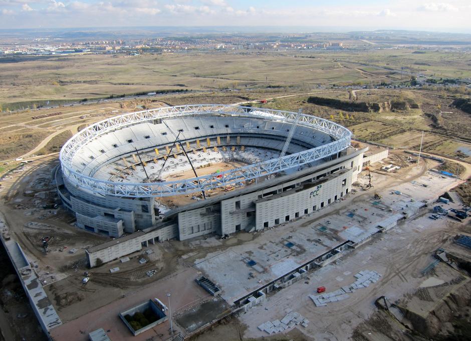 El Ayuntamiento vende La Peineta al Atlético de Madrid por 30 millones de euros