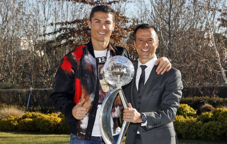 Mendes revela que un club chino ofreció 300 millones por Cristiano