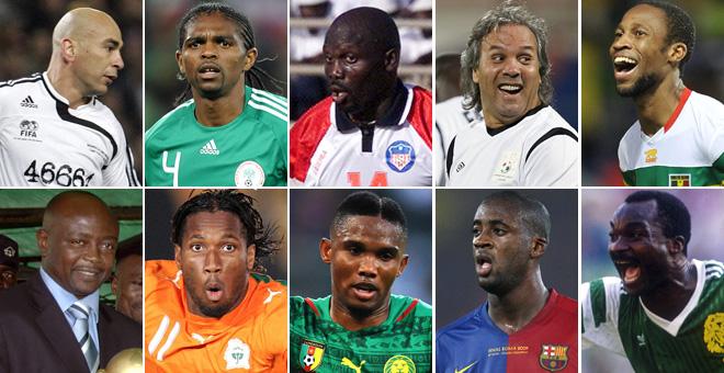 Estos son los diez futbolistas que hemos elegido como los mejores de la  historia del fútbol africano. 77c1474637ad5