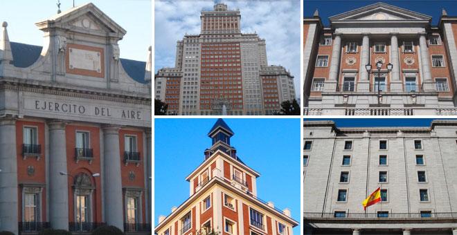 Mem ria repressi franquista la huella del fascismo for Arquitectura franquista