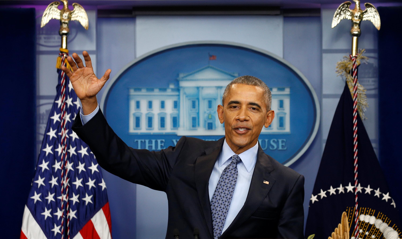 El presidente saliente de EEUU, Barack Obama. - REUTERS