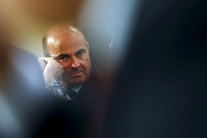 El ministro de Economía y Competitividad, Luis de Guindos, en una foto de archivo. REUTERS
