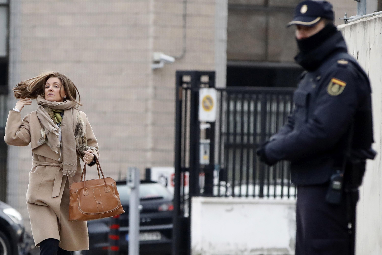Rosalia Iglesias a su llegada este lunes a la Audiencia Nacional para declarar en el caso de la trama Gürtel/ EFE
