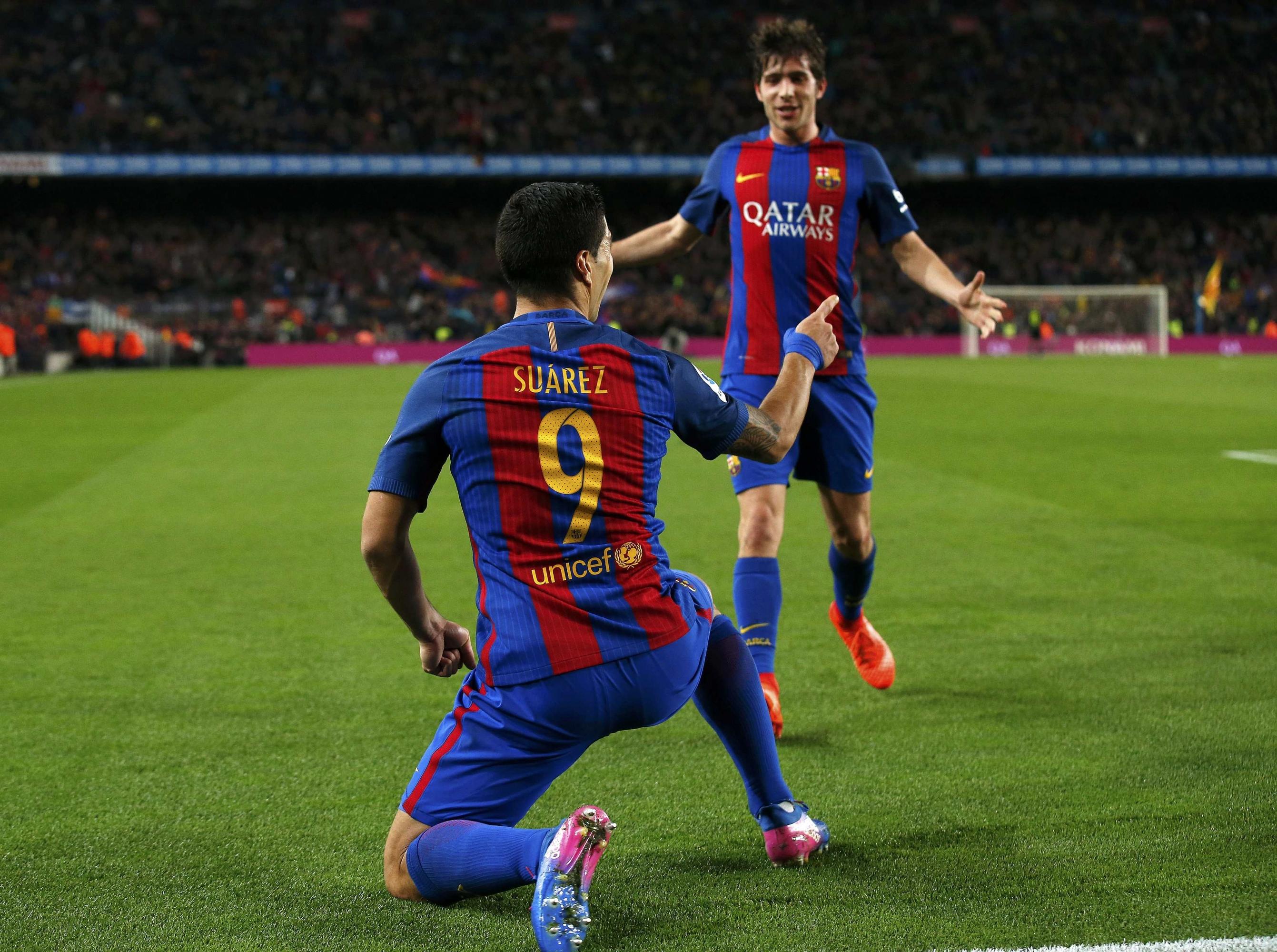 El Barça sufre, pero estará en su cuarta final copera consecutiva