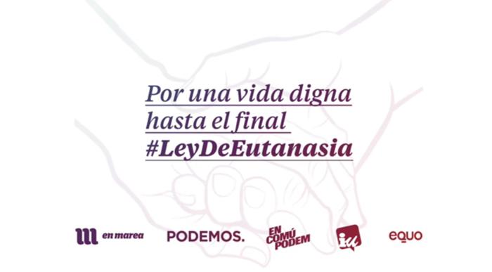 Unidos Podemos pide propuestas ciudadanas para mejorar su ley sobre la  eutanasia 4a488e791f5a