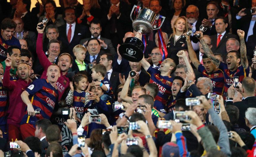 El Vicente Calderón albergará la final de Copa entre Barcelona y Alavés