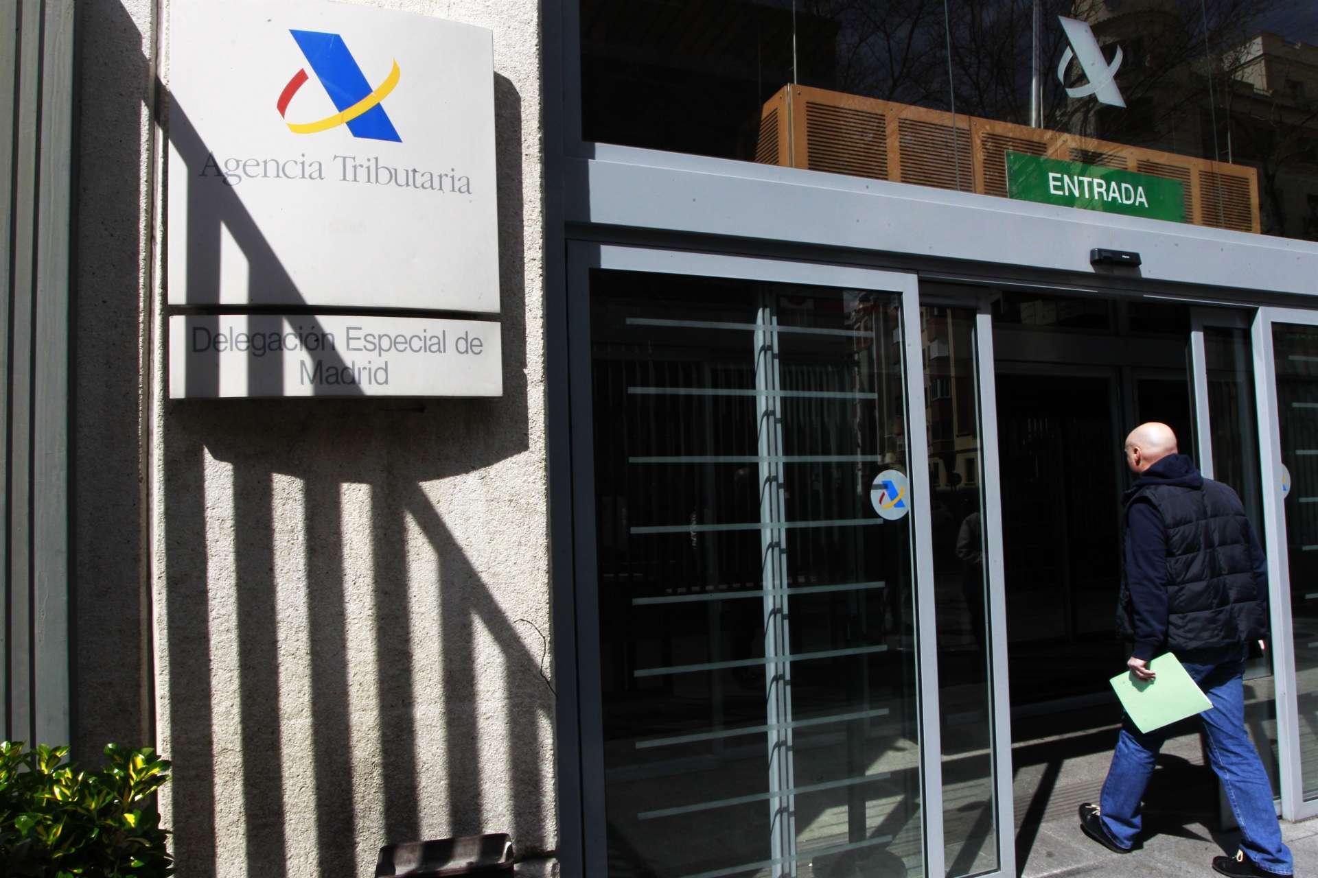 Sede de la Delegación Especial de Madrid de la Agencia Tributaria / EFE