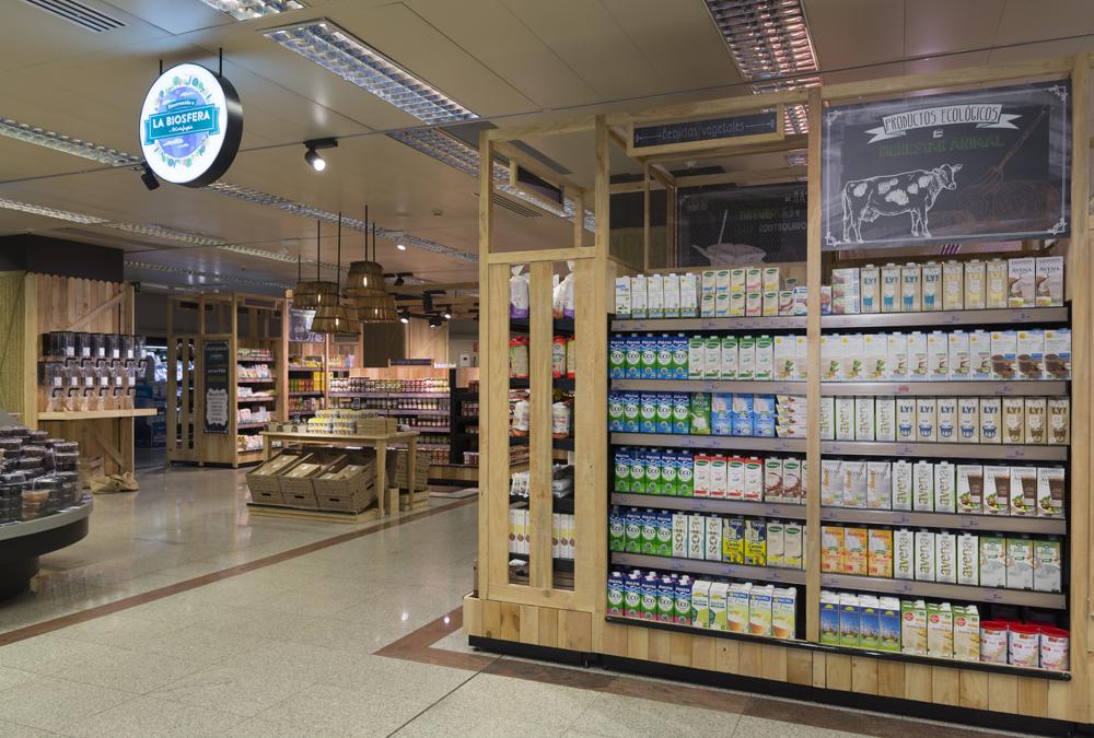 Consumo el corte ingl s abre en valencia su espacio ecol gico 39 la biosfera 39 en supermercados - Libreria el corte ingles valencia ...
