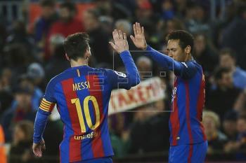 El Barcelona venció por un contundente 5-0 al Celta de Vigo