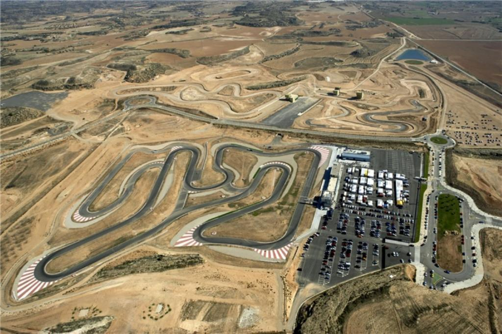 Circuito Zaragoza : El mejor circuito de moto gp se queda sin gasolina público