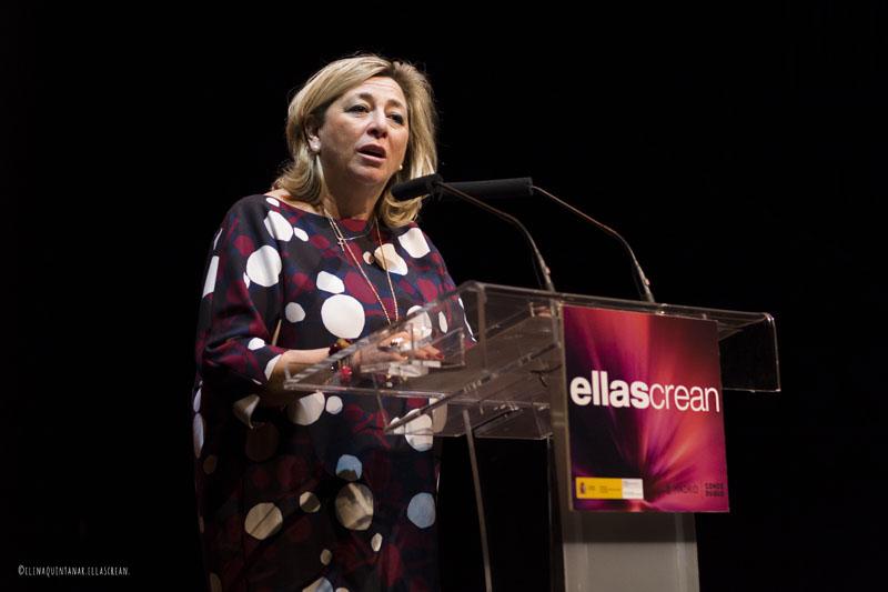 Lucía del Carmen Cerón, directora del Instituto de la Mujer