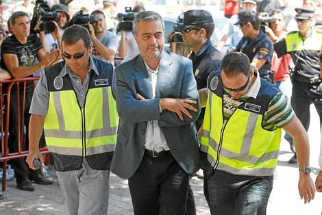 La Operación Astapa contra la presunta corrupción urbanística en la localidad malagueña de Estepona se llevó a cabo en 2008.