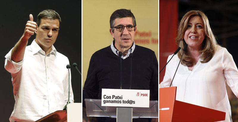 Resultado de imagen de Primarias del PSOE, EL COMERCIO