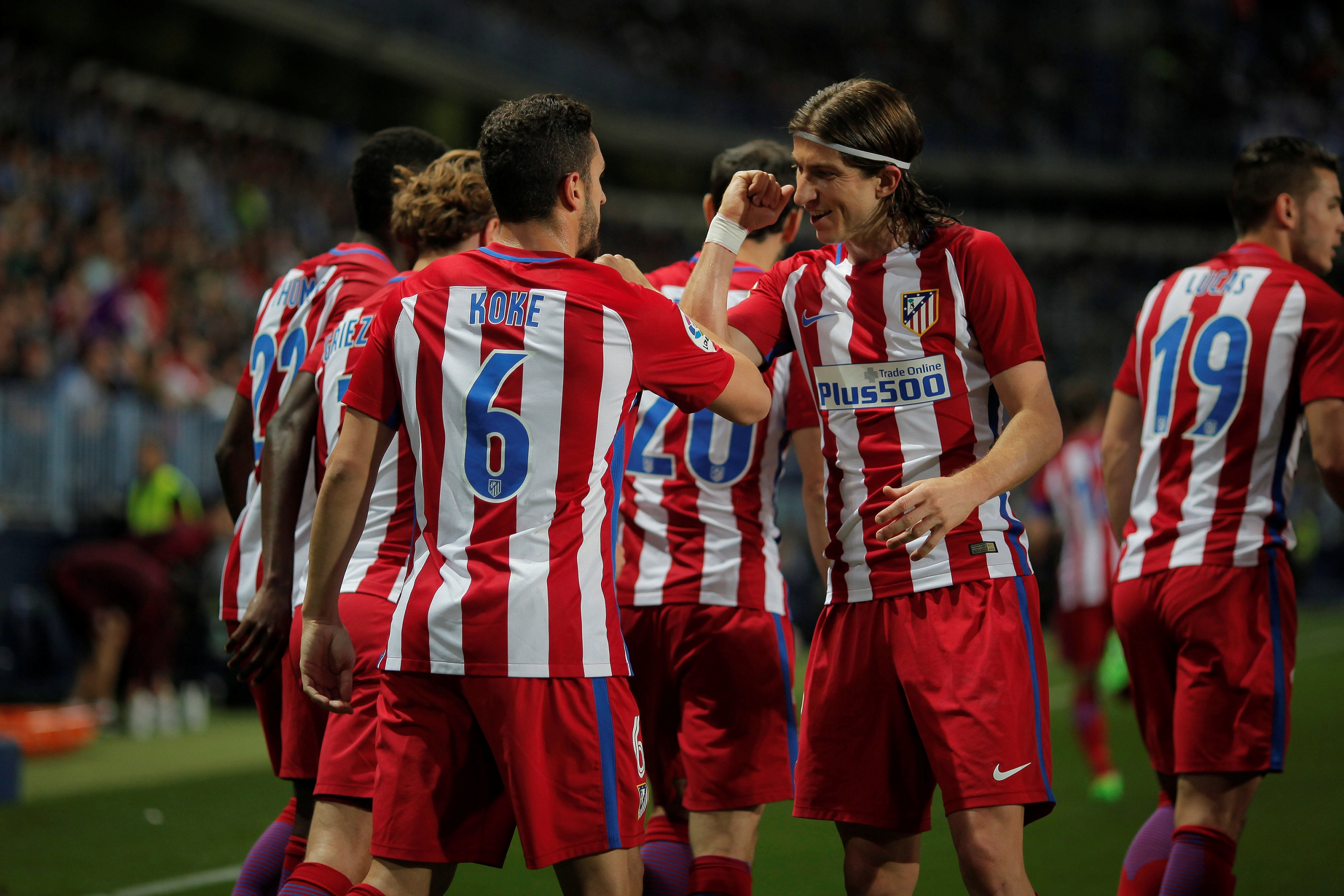 El Atlético gana y se acuesta tercero