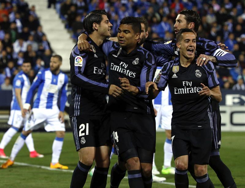 El plan B del Madrid sale airoso de Leganés