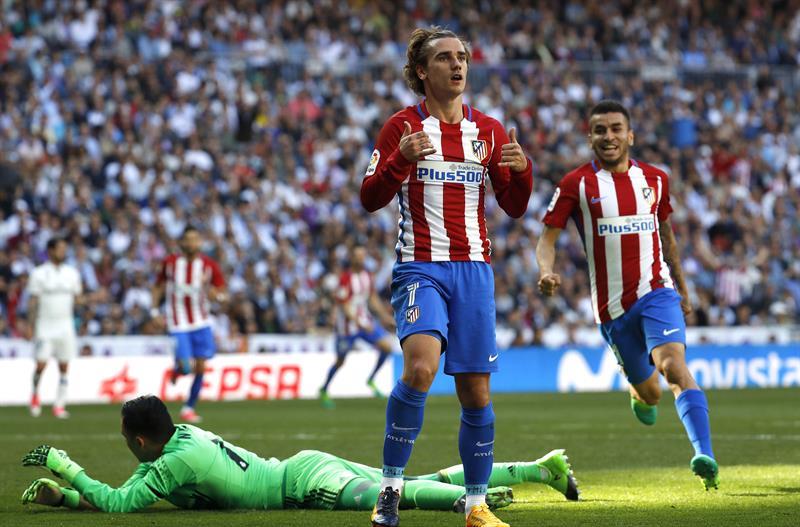 Griezmann empata el derbi en el 85 y castiga la especulación del Real Madrid
