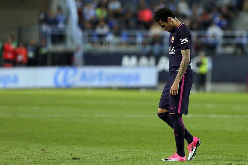 Neymar se queda sin clásico
