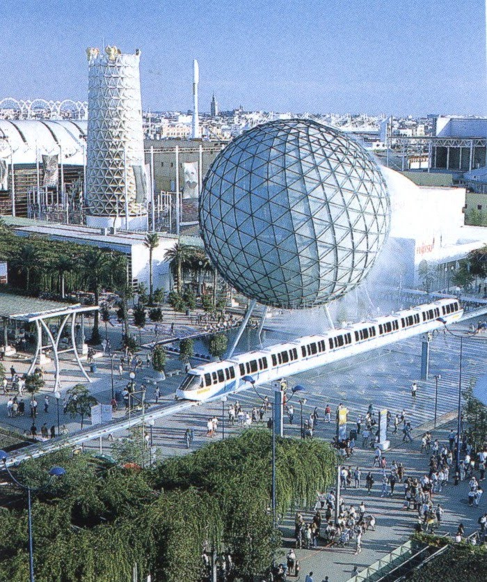 Expo 92 yo vi en la expo de sevilla pel culas en 3d y - La isla dela cartuja ...