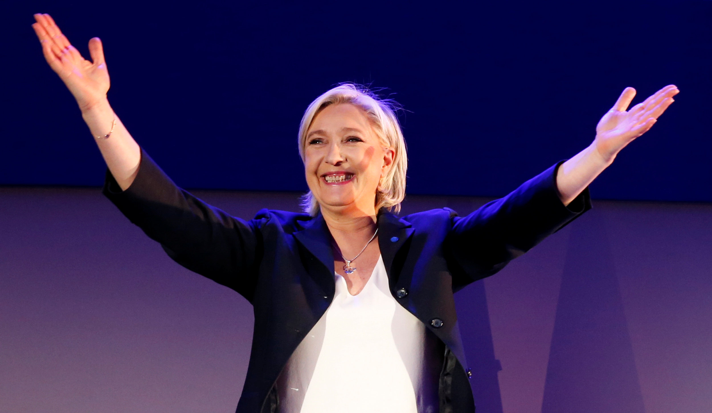 La candidata a la Presidencia de Francia por el partido ultraderechista Frente Nacional, Marine Le Pen.- REUTERS