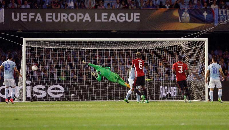 El United obliga al Celta a una hazaña
