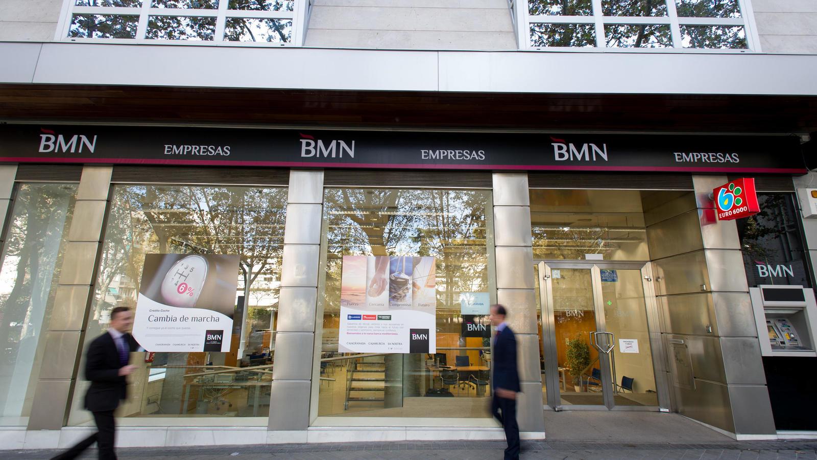 El presidente de bmn desea un proceso de fusi n con bankia for Oficinas de bankia en madrid