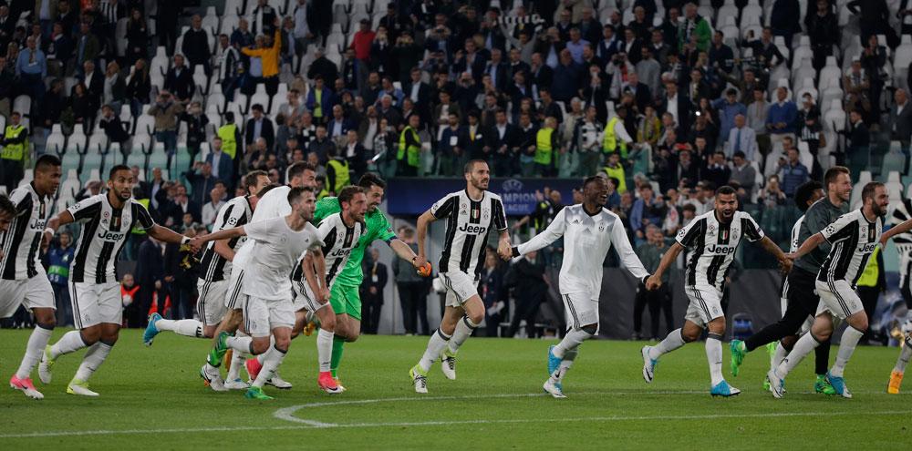 La Juventus baja de las nubes al Mónaco y espera rival en la final de la Champions