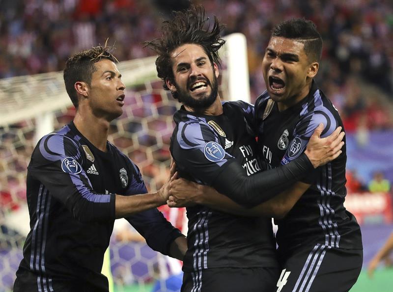 El Real Madrid sale vivo del Calderón (2-1) y jugará la final de la Champions ante la Juve