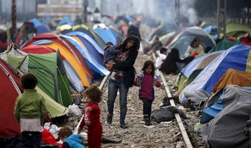 Resultado de imagen de fotos refugiados oxfam