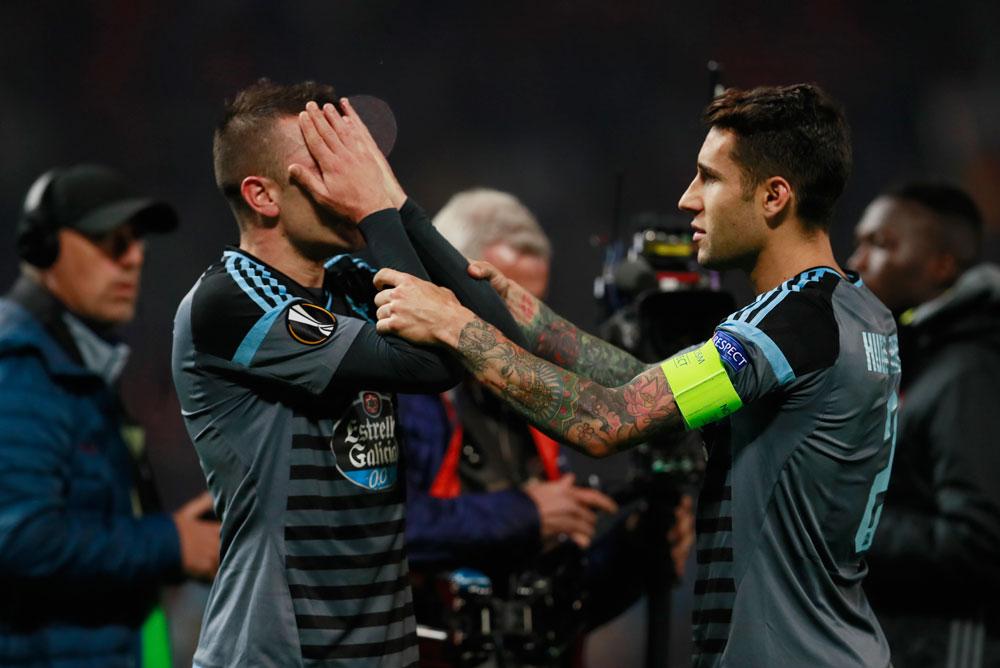 El Celta roza la gesta ante el United